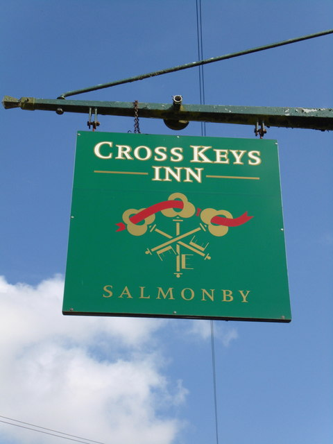 The Cross Keys, Salmonby
