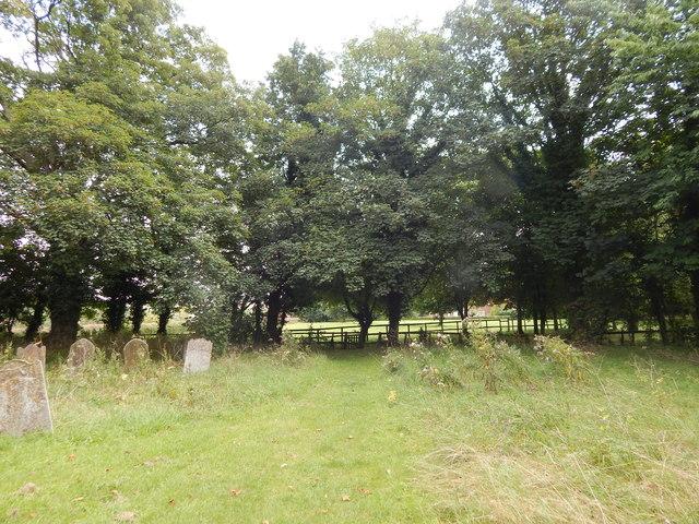 Chickney churchyard