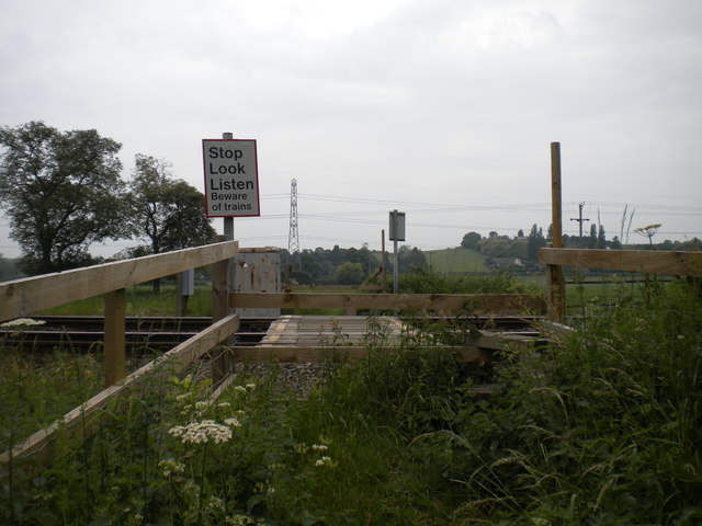 Foot crossing south west of Bleasby
