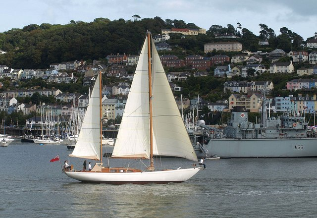 Yacht, Dartmouth Regatta