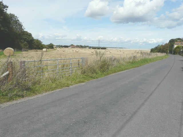 Looking north-northwest from Church Road