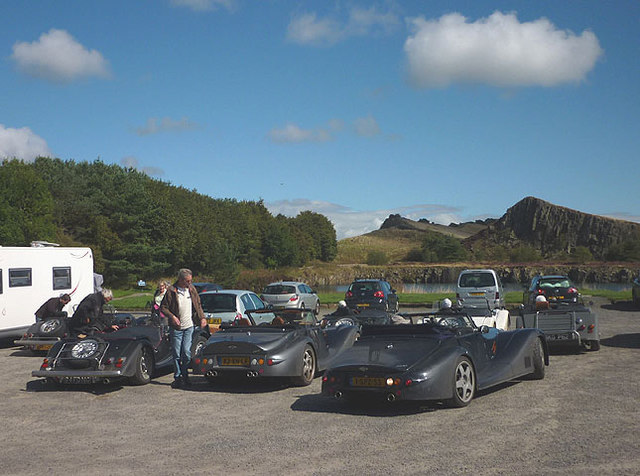Morgans at Cawfields