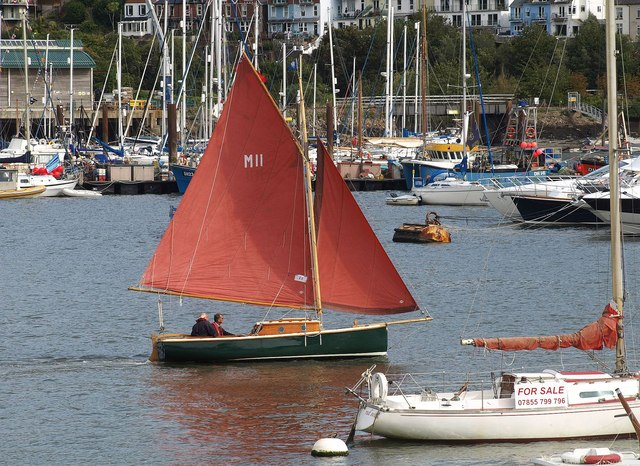 Yacht, Dartmouth Regatta