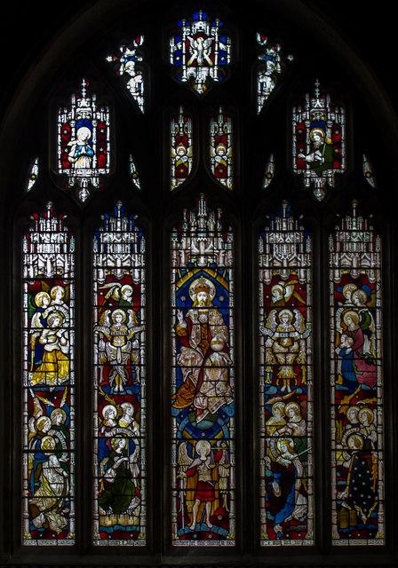 East Window, St James the Great church, Kilkhampton