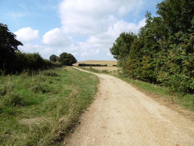 Bridleway at Brinkhill