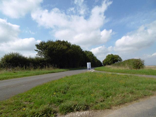 Road towards Harrington Hill