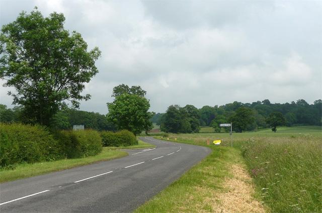 Southwell Road near Oxton