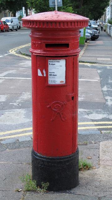 Victorian postbox, Elm Grove / De Montfort Road, BN2