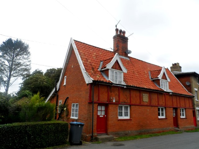 The Almshouses, Peasenhall