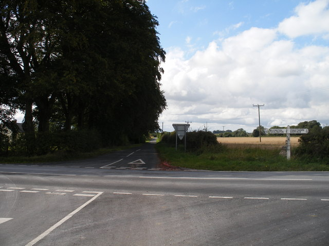 Road junction, Greenwick Cottage