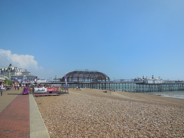 Eastbourne Pier - after the fire