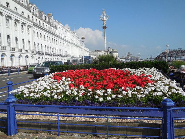 Flowerbed, Eastbourne Seafront - Sept 14