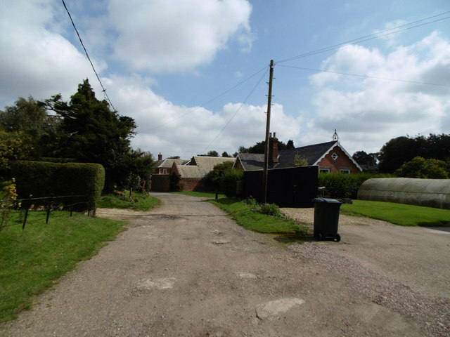 School Lane, Raithby by Spilsby