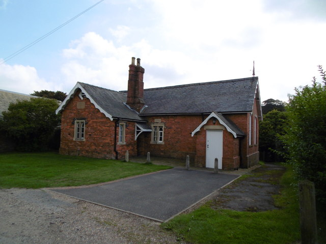 Former village school by Spilsby