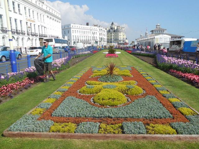 Carpet Gardens, Eastbourne, Sept 14