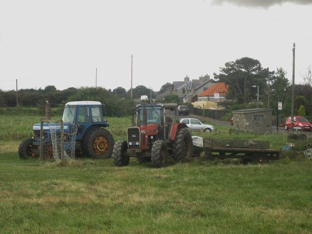 Fishermen's tractors, Boulmer