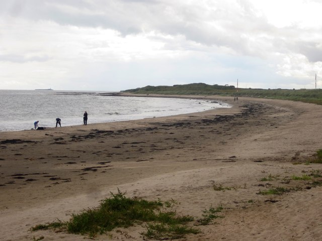 The beach at Boulmer