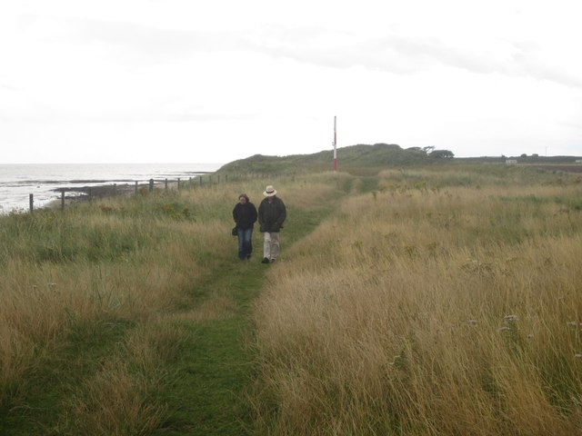 The Northumberland Coast Path south of Boulmer