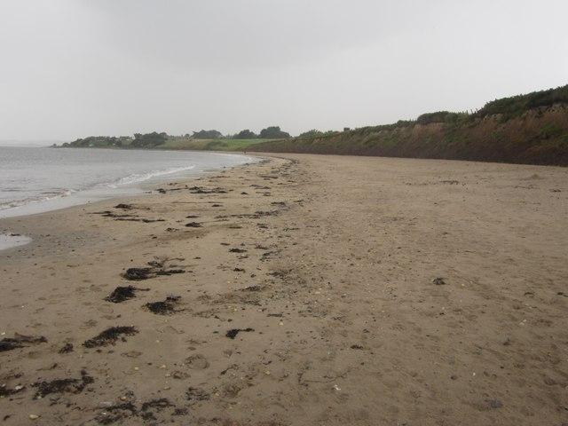 The beach at Seaton House