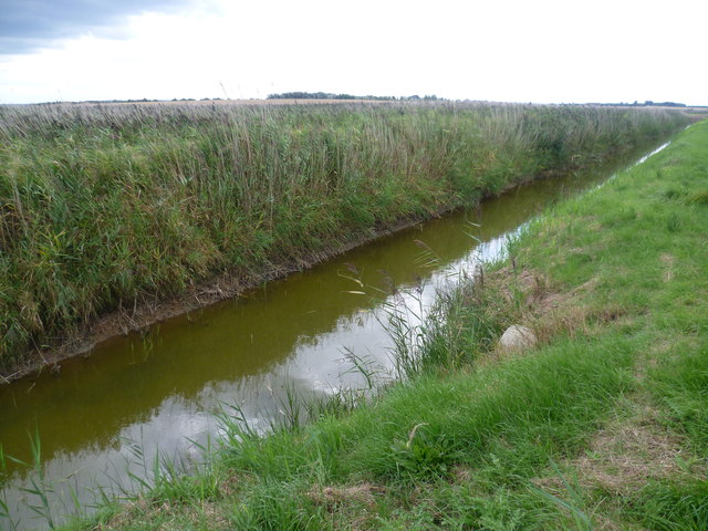 Drainage channel next to Capel Fleet