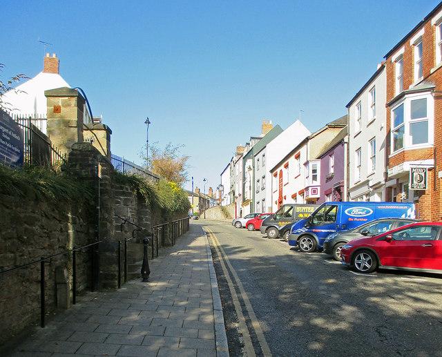 Durham: up Crossgate