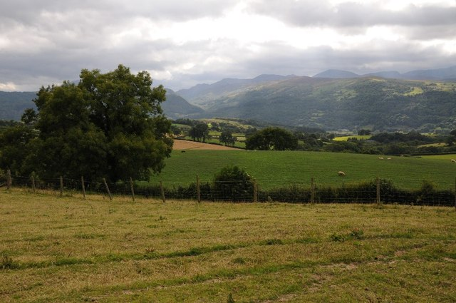 View of the mountains of Snowdonia