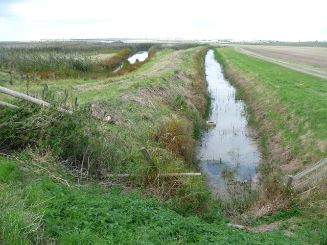 Drainage ditch next to Capel Fleet