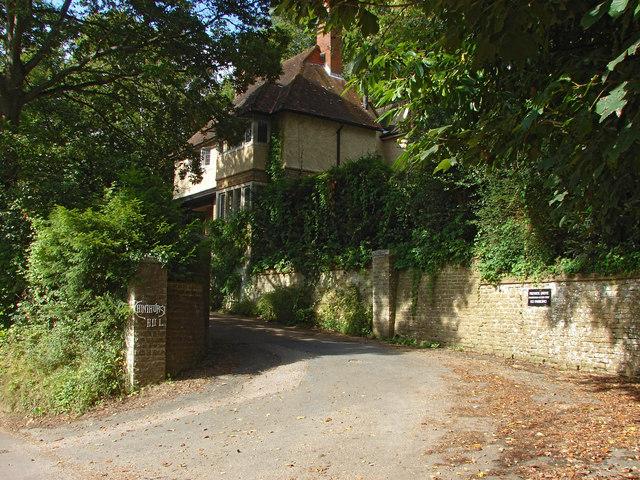 Chinthurst Hill driveway