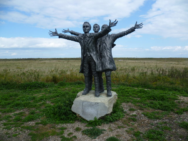 Short Brothers statue at Leysdown Country Park