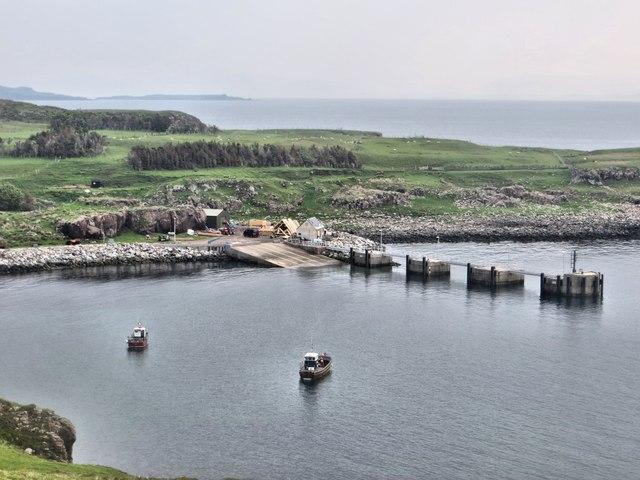 Port Mor ferry terminal