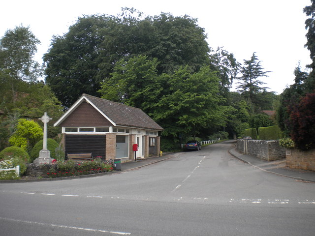East end of Priory Road, Thurgarton