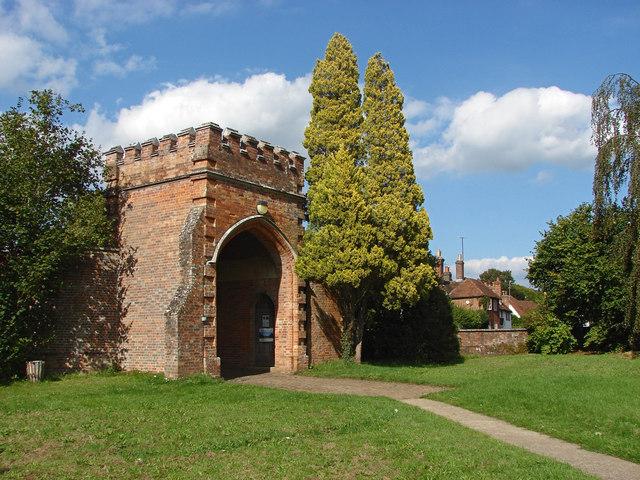 Wonersh House gate
