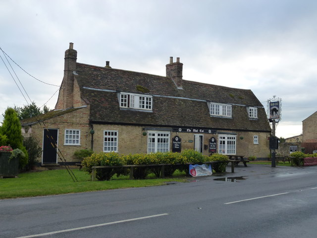 The Mad Cat public house in Pidley