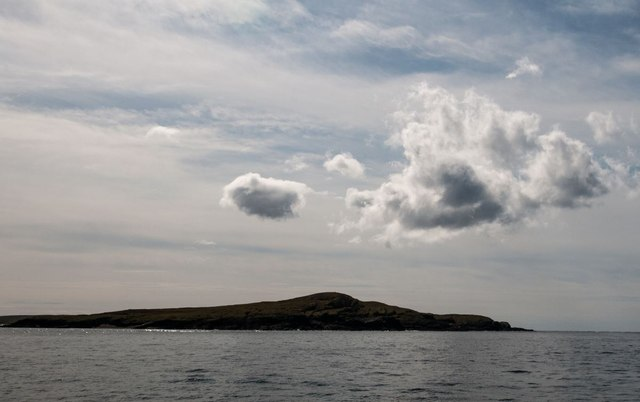 Nave Island from the north, Islay