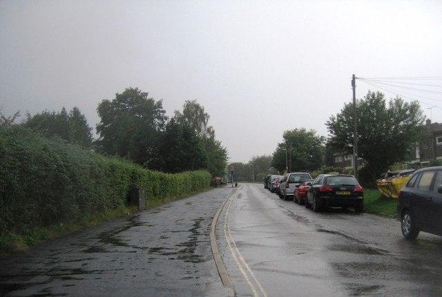 Evening rain shower - School Lane