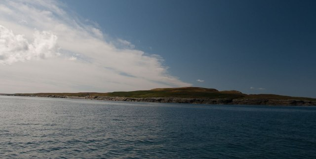 Nave Island from the north-east, Islay