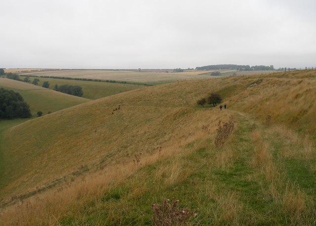 Path down into Brubber Dale