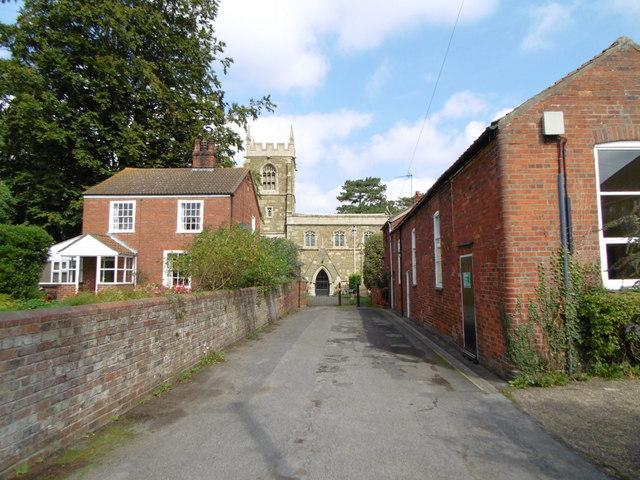 Church Lane Hundleby, Spilsby