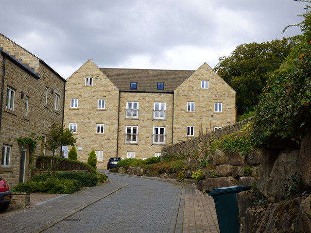 Embsay:  New apartments on site of  former tannery
