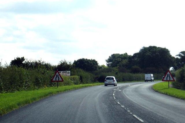 Garstang Road leaving Great Ecclestone