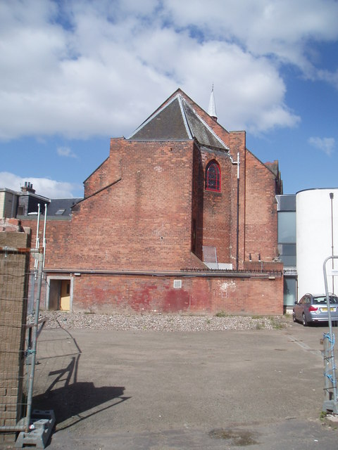 Central Baptist Church (rear view), Dundee