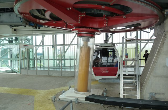 Emirates Cable Car - Giant wheel