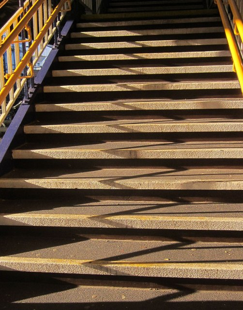 Stairs, Newton Abbot station
