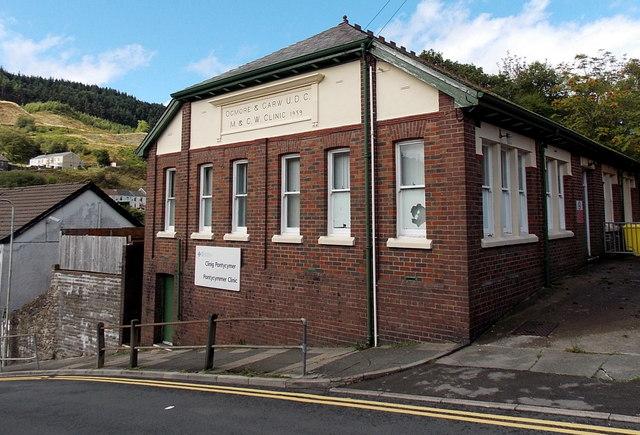 Pontycymmer Clinic in Pontycymer