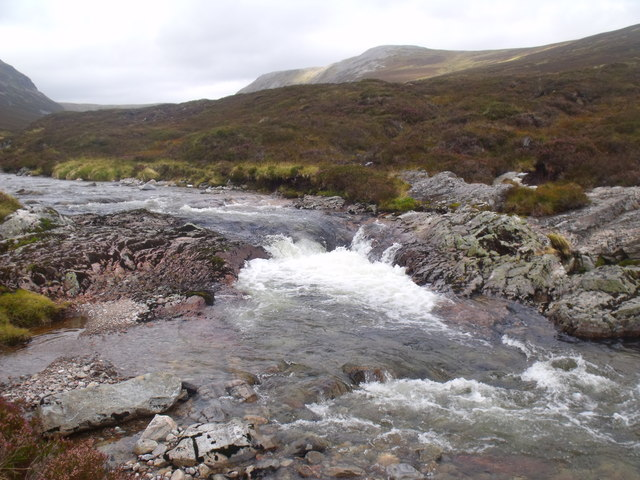 Rapid on River Eidart, Glenfeshie