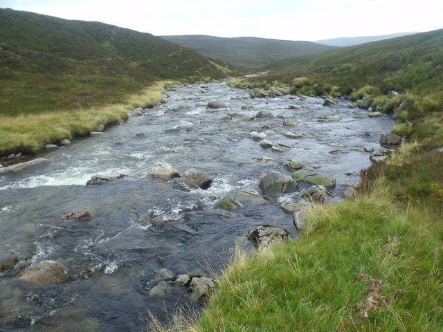 River Eidart heading for twin falls