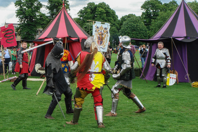 Medieval Re-enactment on Parker's Piece