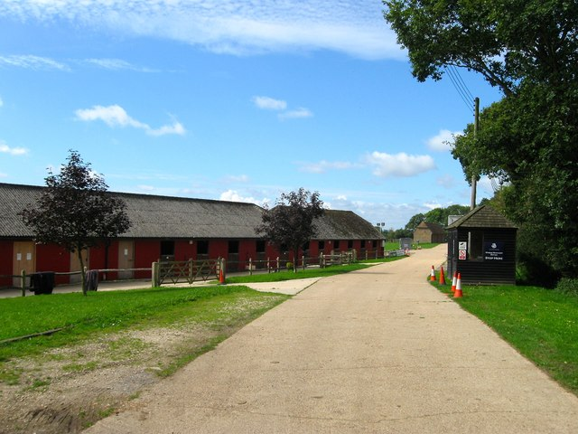 Stable Blocks, Hickstead Show Jumping Course
