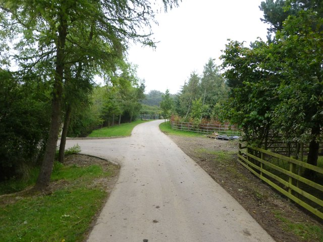 Access to Oak Dene Grange and Shawfield House
