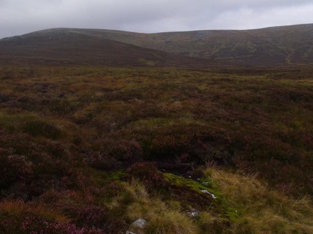 West bank of Allt Eindart on Glenfeshie estate
